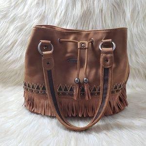 Montana West Fringe Handbag